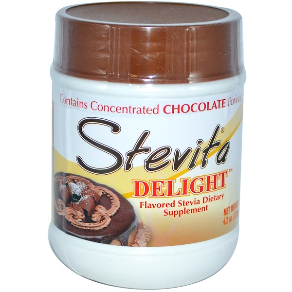 Stevita, Stevita Delight, Chocolate Powder, 4.2 oz (120 g)