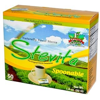 Stevita, Spoonable Stevia, 50 Packets, 1.8 oz (50 g)
