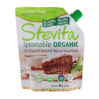 Stevita, Spoonable Organic, оригинал, 227 г