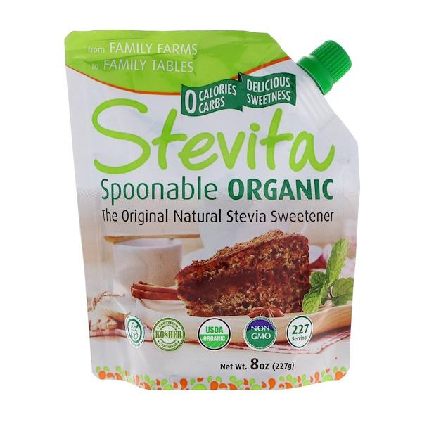 Stevita, Spoonable Organic, Original, 8 oz (227 g) (Discontinued Item)