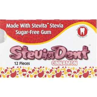 Stevita, SteviaDent、シナモン、12 個入り