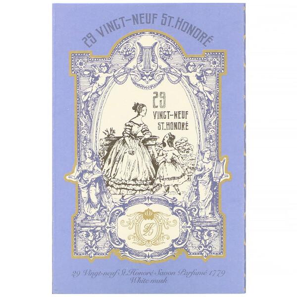 Savon Parfume 1779, White Musk, 4.76 oz (135 g)