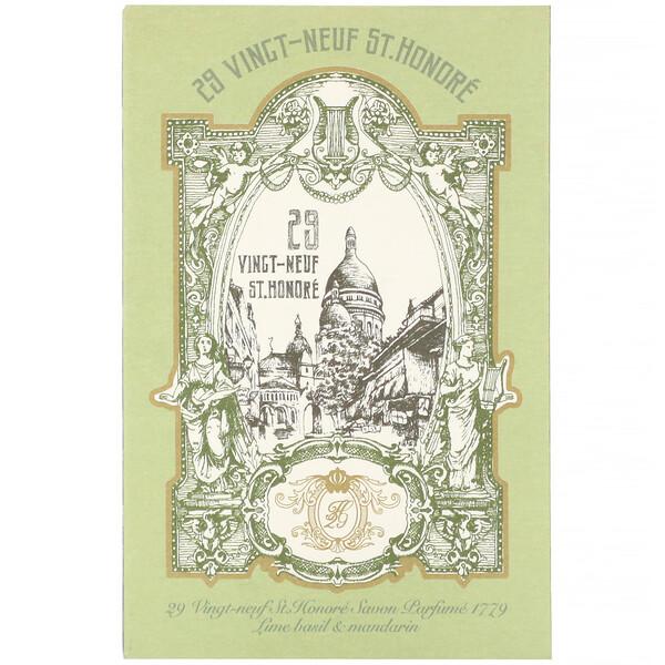 Savon Parfume 1779, Lime Basil & Mandarin, 4.76 oz (135 g)