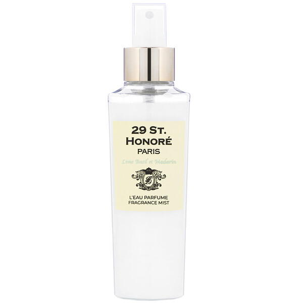 29 St. Honore, Miracle Water Fragranced Body Mist, Lime Basil & Mandarin, 150 ml