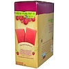 Stretch Island, All-Natural Fruit Strips, Ripened Raspberry, 30 Strips, 0.5 oz (14 g) Each (Discontinued Item)