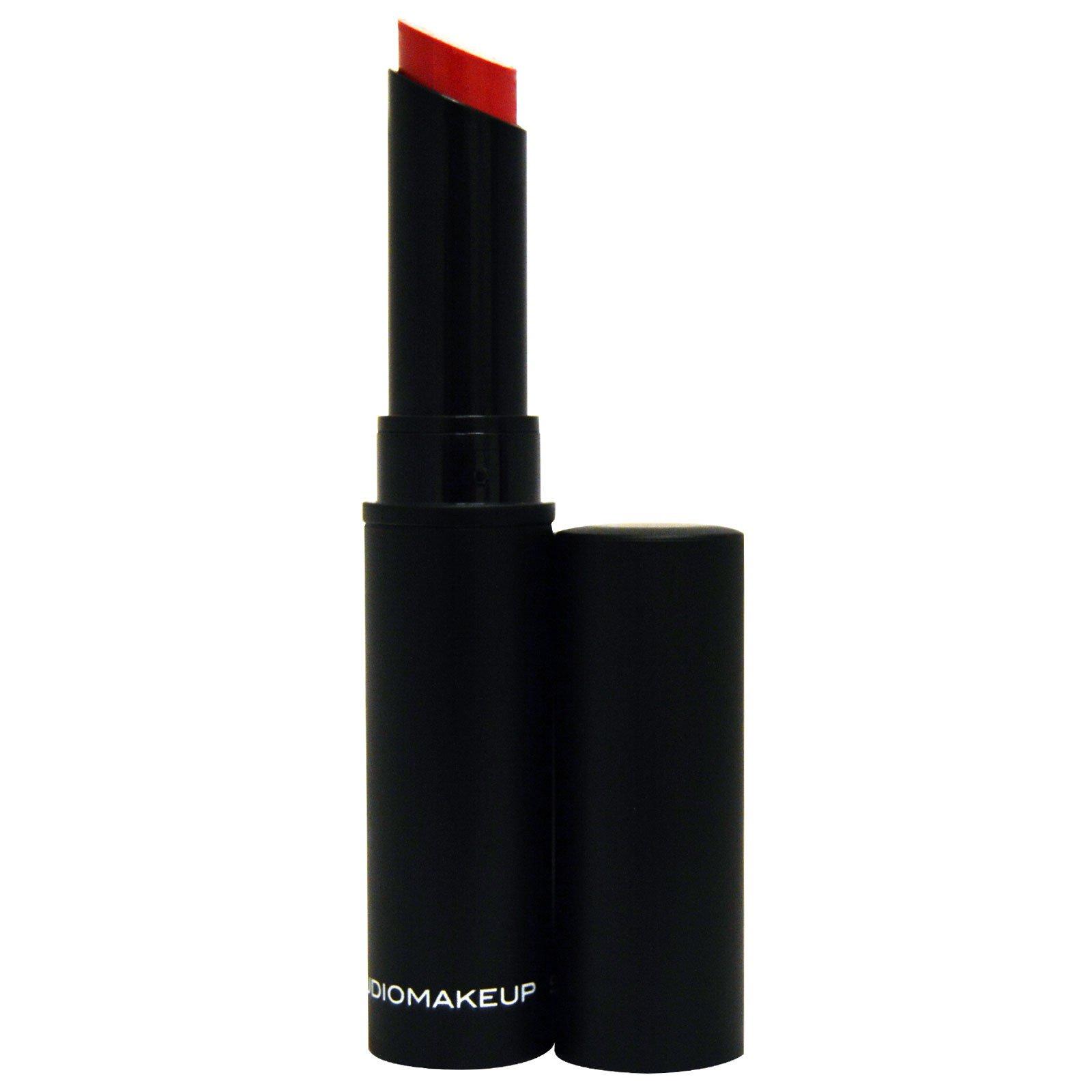 Studio Makeup, Бархатная помада, Знаменитый розовый, 0,08 унции (2,5 г)