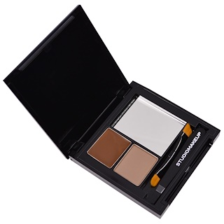 Studio Makeup, Brow Perfecting Kit, Light to Medium, 1.7 g (0.05 oz)