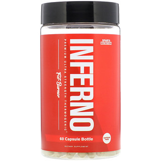 Sparta Nutrition, Inferno, Premium Ultra Strength Thermogenic Fat-Burner, 60 Capsules