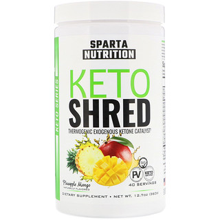 Sparta Nutrition, Keto Shred, Pineapple Mango, 12.7 oz (360 g)