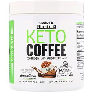 Sparta Nutrition, Keto Series, Keto Coffee, Hazelnut Dream, 8.5 oz (240 g) отзывы