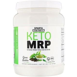 Sparta Nutrition, Keto MRP, Green Matcha, 1.25 lbs (570 g)