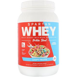 Sparta Nutrition, Spartan Whey, Loopy Fruits, 2 lbs