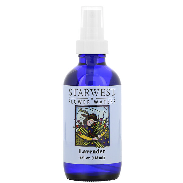 Flower Waters, Lavender, 4 fl oz (118 ml)