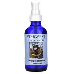 Starwest Botanicals, 花水,橙花,4 液量盎司(118 毫升)