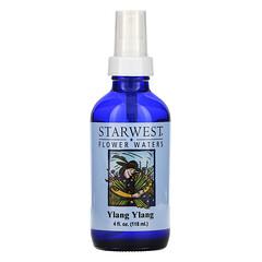 Starwest Botanicals, 花卉水,依蘭精油,4 液量盎司(118 毫升)