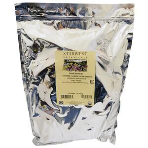 Старвест Ботаникалс, Organic Lavender Flowers Extra, 1 lb (453.6 g) отзывы покупателей