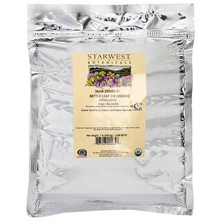 Starwest Botanicals, Nettle Leaf C/S, Organic, 1 lb (453.6 g)