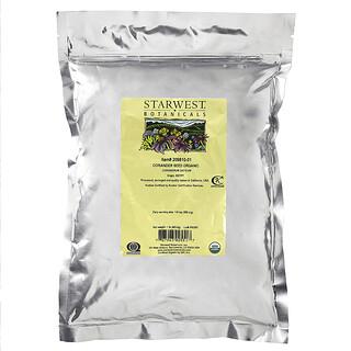 Starwest Botanicals, Semilla de Cilantro Integra, Orgánico, 1 lb (450 gr)