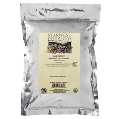 "Starwest Botanicals, 薑根 1/4""C/S,有機,1 磅(453.6 克)"
