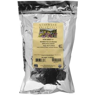 Starwest Botanicals, Organic Rooibos Tea C/S, 1 lb (453.6 g)