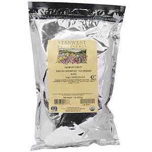 Старвест Ботаникалс, Organic English Breakfast Tea Blend, 1 lb (453.6 g) отзывы