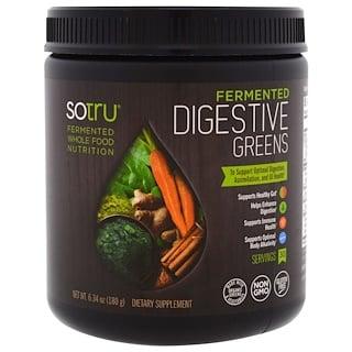 SoTru, Fermented, Digestive Greens, 6.34 (180 g)