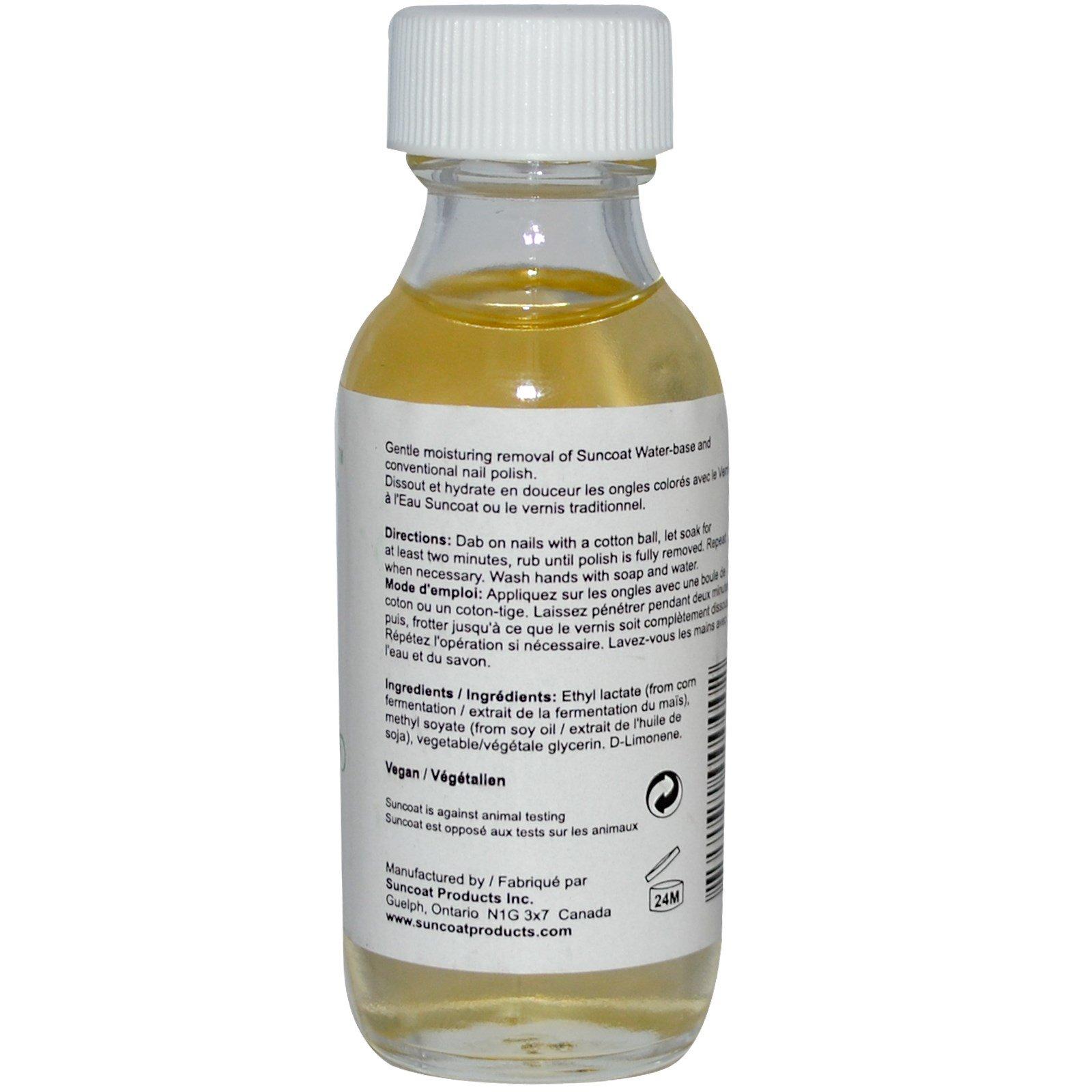 Suncoat, Natural Nail Polish Remover, 1 fl oz (30 ml) - iHerb.com