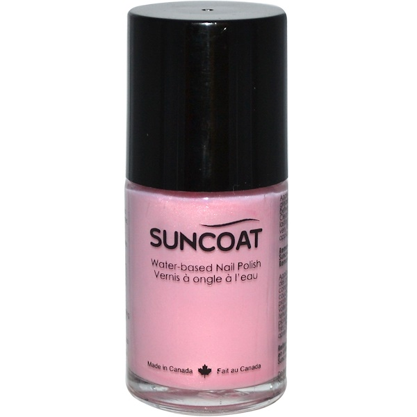 Suncoat, Water-Based Nail Polish, 09 Lilac, 0.5 oz (15 ml) (Discontinued Item)