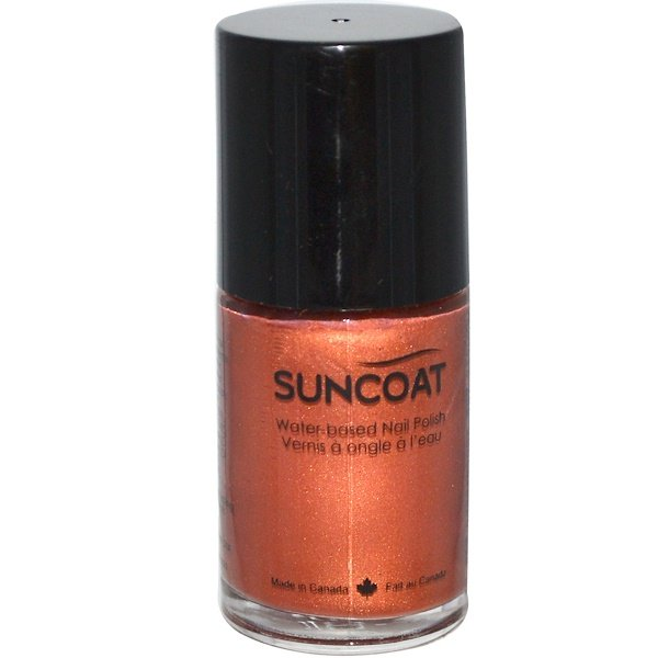 Suncoat, Water-Based Nail Polish, 13 Copper, 0.5 oz (15 ml) (Discontinued Item)