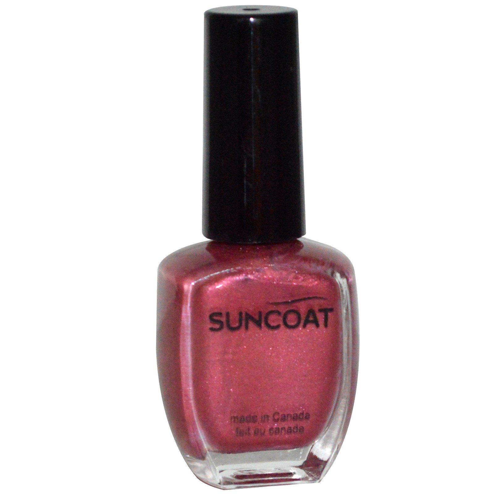 Suncoat, Esmalte de Uñas, Púrpura de Medianoche, 0.43 fl oz (13 ml ...