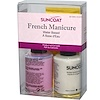 Suncoat, French Manicure, Water Based Nail Polish, 2 Piece Kit, 0.5 fl oz (15 ml) Each (Discontinued Item)