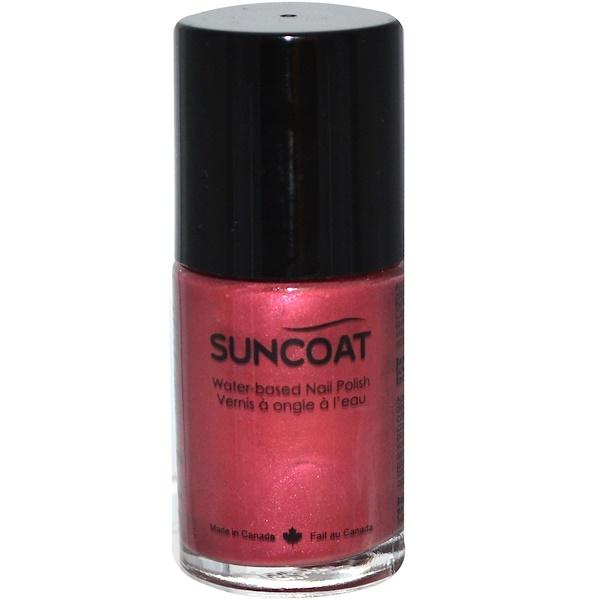 Suncoat, Water-Based Nail Polish, 25 Desert Sunset, 0.5 oz (15 ml) (Discontinued Item)