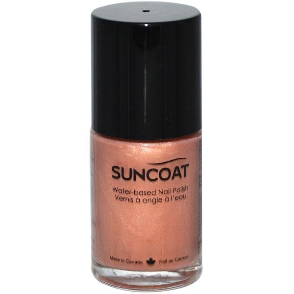 Suncoat, Water-Based Nail Polish, 31 Beige, 0.5 oz (15 ml) (Discontinued Item)