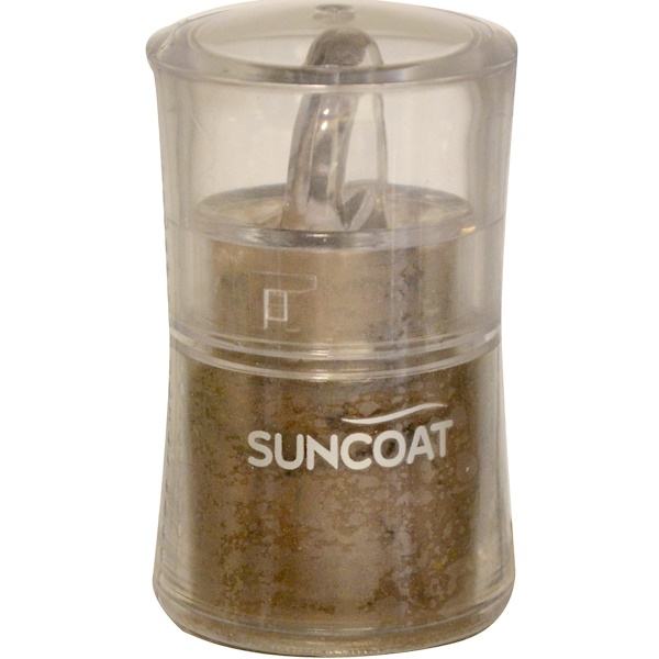 Suncoat, Mineral Eye Shadow, Chocolate, 0.3 fl oz (9 ml) (Discontinued Item)