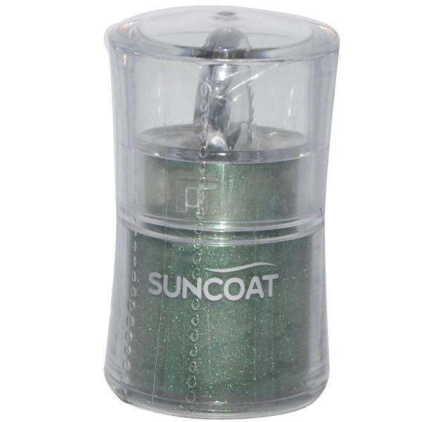 Suncoat, Mineral Eye Shadow, Jade Green, 0.3 fl oz (9 ml) (Discontinued Item)