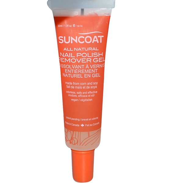 Suncoat, Nail Polish Remover Gel, 1.0 fl oz (30 ml) (Discontinued Item)