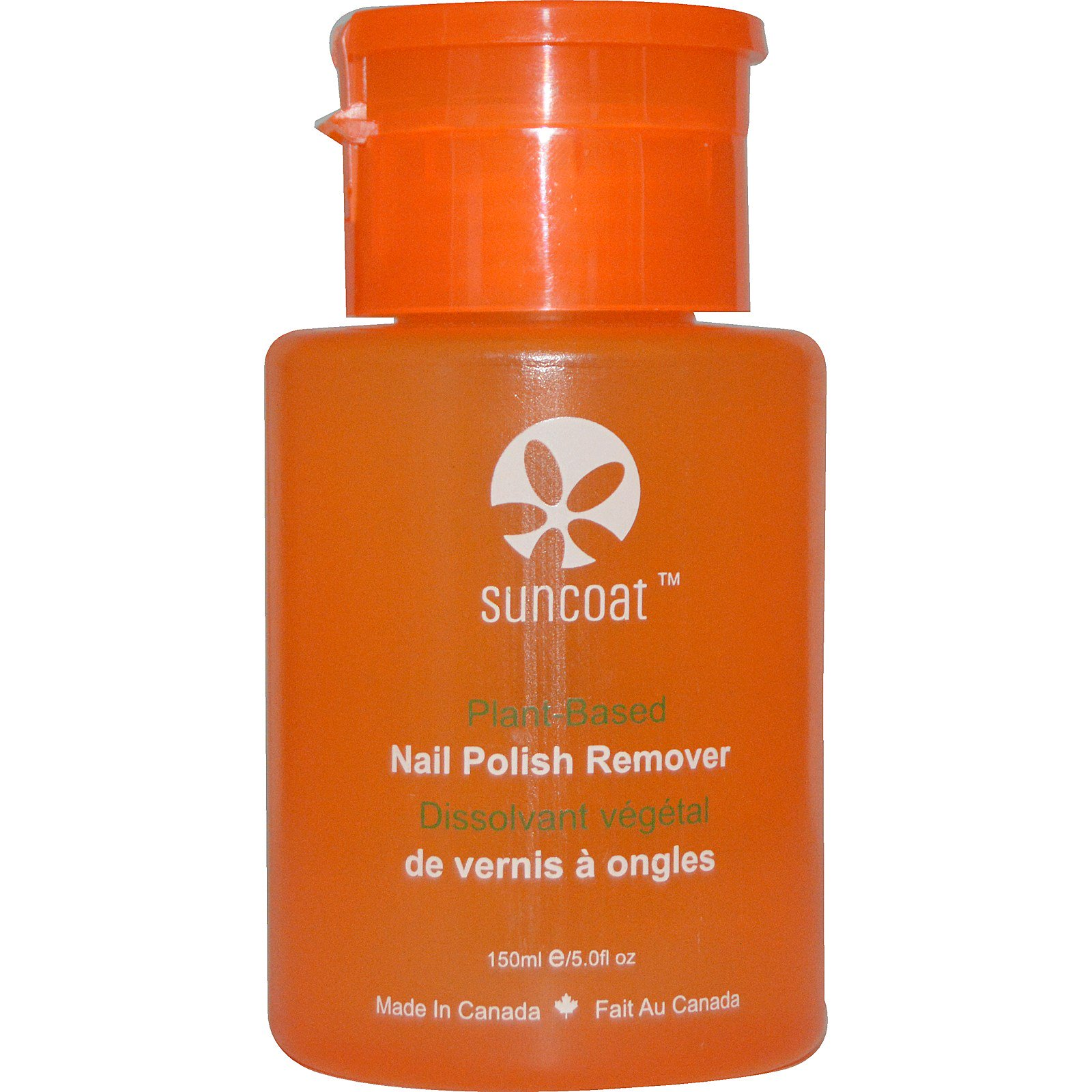 Suncoat Plant Based Nail Polish Remover 5 0 Fl Oz 150 Ml Iherb