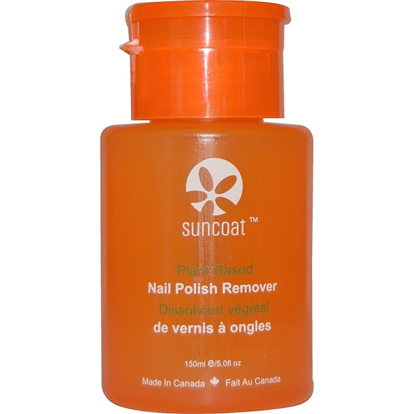 Suncoat, Plant-Based, Nail Polish Remover, 5.0 fl oz (150 ml) (Discontinued Item)