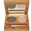 Suncoat, Duo Mineral Eye Shadow With Organic Bamboo Silk, Bamboo & Smoke, 0.1 fl oz (2 x 3 ml) (Discontinued Item)