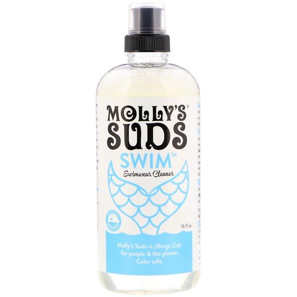 Molly's Suds, Swim, Swimwear Cleaner, 16 fl oz