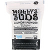 Molly's Suds, Laundry Powder, Ultra Concentrated, Unscented, 70 Loads, 47 oz (1.33 kg)
