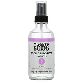 Molly's Suds, Room Deodorizer, Lavender, 4 fl oz