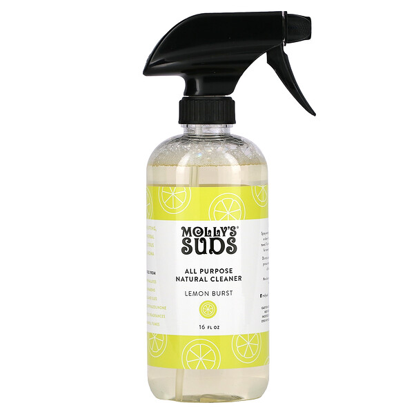 万能天然清洁剂,柠檬味,16液量盎司