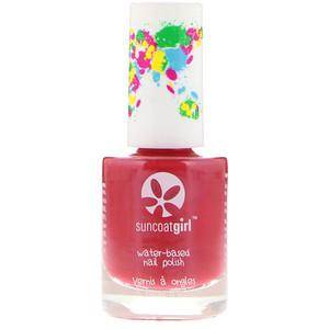 Санкоут Герл, Water-Based Nail Polish, Strawberry Delight, 0.3 oz (9 ml) отзывы покупателей