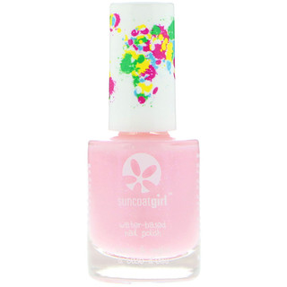 Suncoat Girl, Water-Based Nail Polish, Fairy Glitter, 0.3 oz (9 ml)