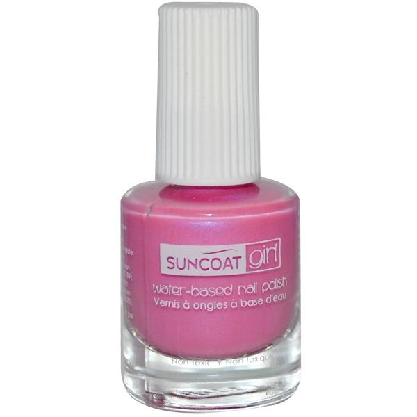 Suncoat Girl, Water-Based Nail Polish, Princess Purple, 0.27 oz (8 ml) (Discontinued Item)