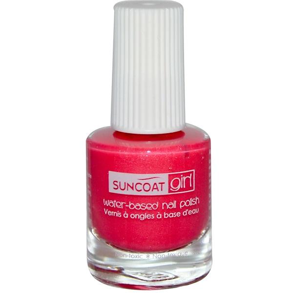 Suncoat Girl, Water-Based Nail Polish, Apple Blossom, 0.27 oz (8 ml) (Discontinued Item)