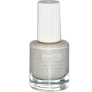 Suncoat Girl, Water-Based Nail Polish, Sparkling Snow, 0.27 oz (8 ml)
