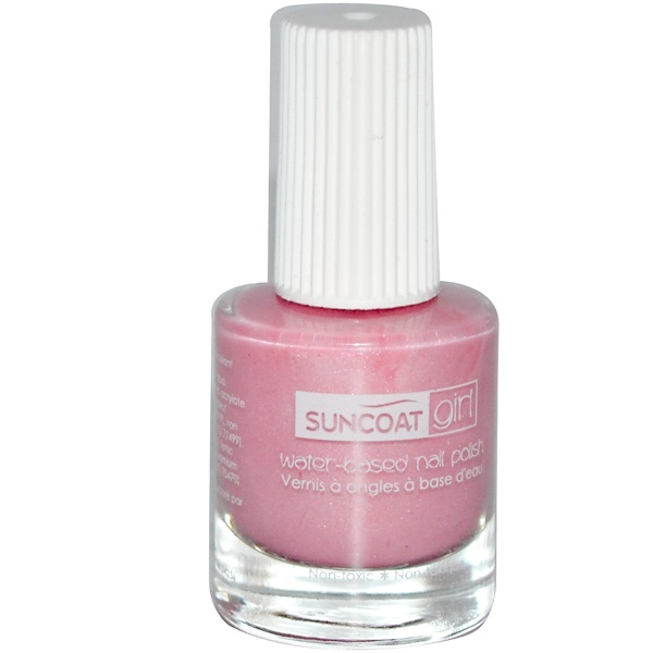 Suncoat Girl, Water-Based Nail Polish, Ballerina Beauty, 0.27 oz (8 ml) (Discontinued Item)