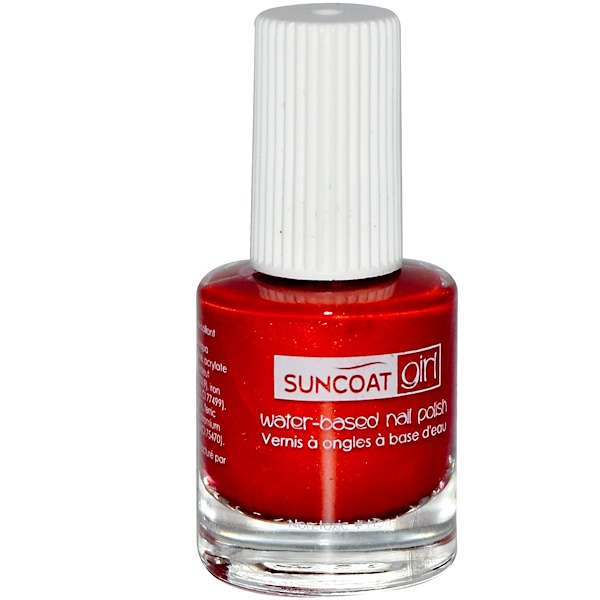 Suncoat Girl, Water-Based Nail Polish, Golden Sunlight, 0.27 oz (8 ml) (Discontinued Item)